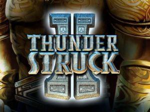 ThunderStruck2 machine à sous